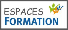 Logo espaces formation